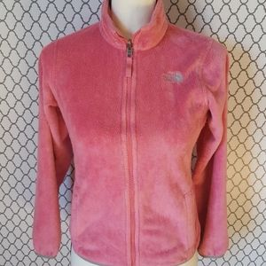 The North Face Girls Light Pink Jacket S 10/12